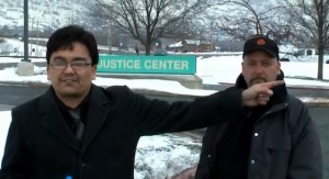 Andy Esquivel introduces Jeff Parker at pre-trial