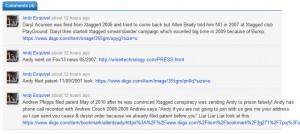 Andy Esquivel - pathological liar